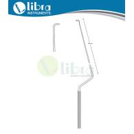 LANDOLT Blunt Hook 26 cm Angled