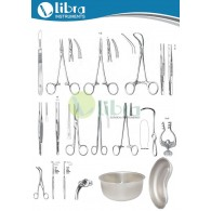 TRACHEOSTOMY INSTRUMENTS SET ( 31 Pcs )
