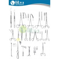 MINOR SURGERY INSRUMENT SET ( 86 Pcs )
