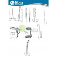 OBSTETRIC & GYNECOLOGY INSTRUMENT SET ( 31 Pcs )