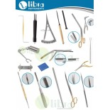 Rhinoplasty Instruments Set of  22 Pcs and instruments (one piece each of all instruments)