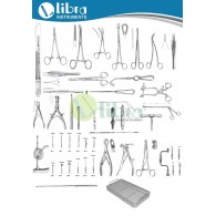 CRANIOTOMY INSTRUMENT SET ( 77 Pcs )