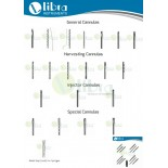 LipoSuction Cannulas Set of ( 125 Pcs Cannulas with Different Type & Size And 5pcs Stop Lock For Syringes )