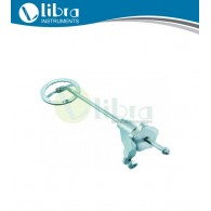 Chest Support / Laryngoscope Holders With adjustment wheel, movable with metal ring