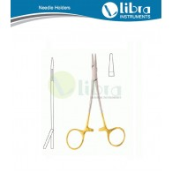 Halstead Needle Holder 11.5cm T.C (Tungsten Carbide inserts) Nadelhalter, Porta-agujas, Porte aiguillies