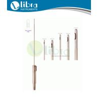 GASPAROTTI Liposuction Cannula, One Central Hole