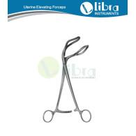 Somer Uterine Holding and Elevating Forceps 23cm (Uterus Polypen und Fasszangem) Pinzas para pollpos el uterinos