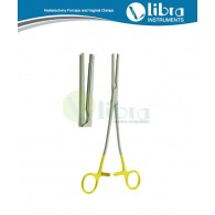 Z-Parametrium (Hystrectomy) Clamp Gold Rings For Gynecology Surgery (Hystrektomieklemen) Pinzas-clamps p/histerectomia